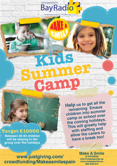 Make a Smile Just Giving Summer Camp