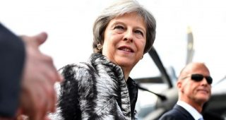 Theresa May pledges to boost aerospace amid Brexit fears
