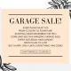 Garage Sale Vicenta