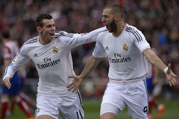 Real Madrd Bale and Benzema