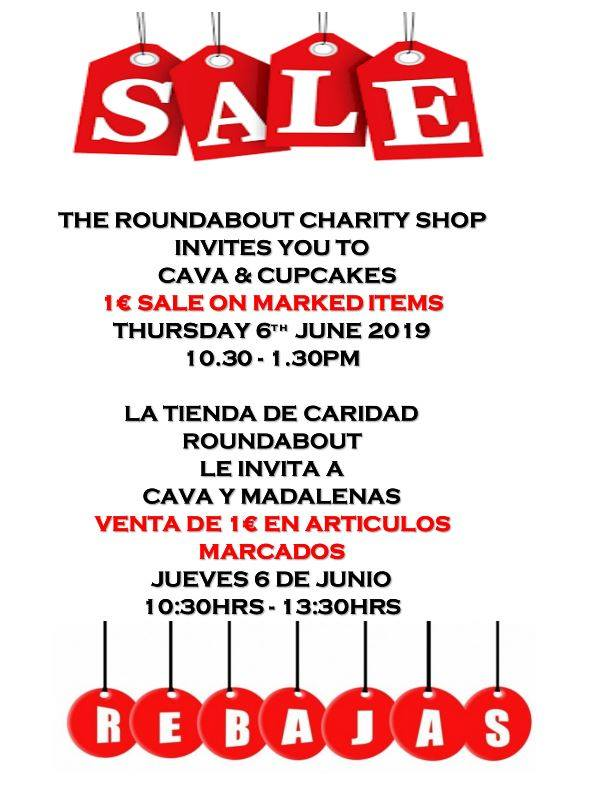 The Roundabout Charity Shop Event