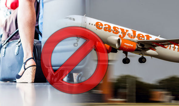 Easyjet Banned