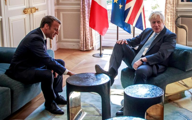 Macron and Johnson