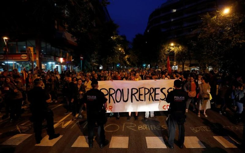 Arrest Barcelona