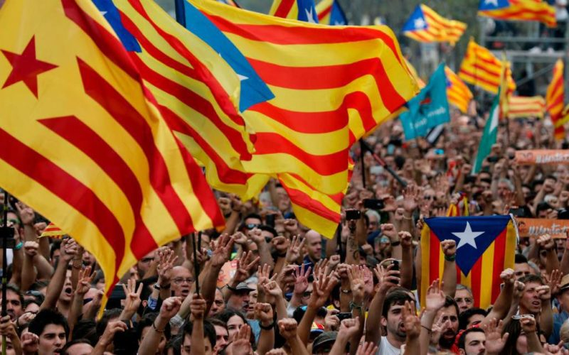 Catalan Separatists March
