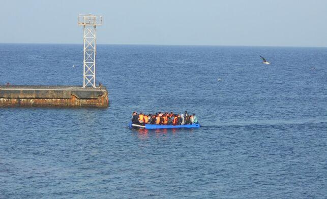 Immigrant Boats Canaries