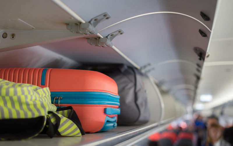 Overhead Luggage Compartments
