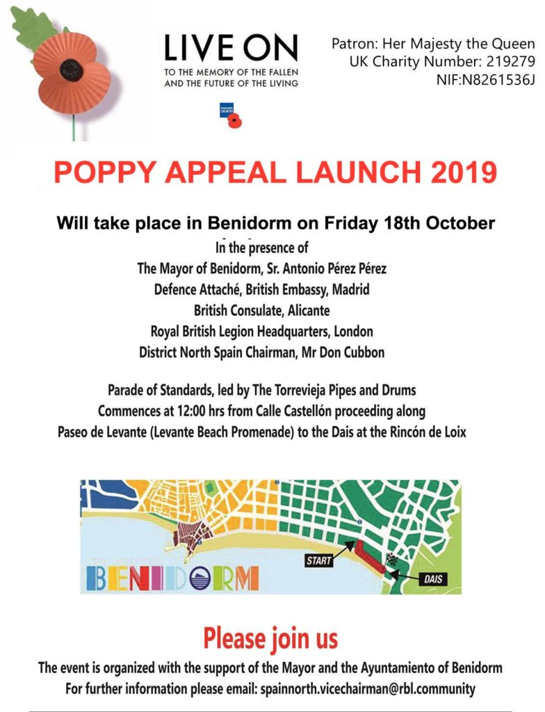 Poppy Launch 2019