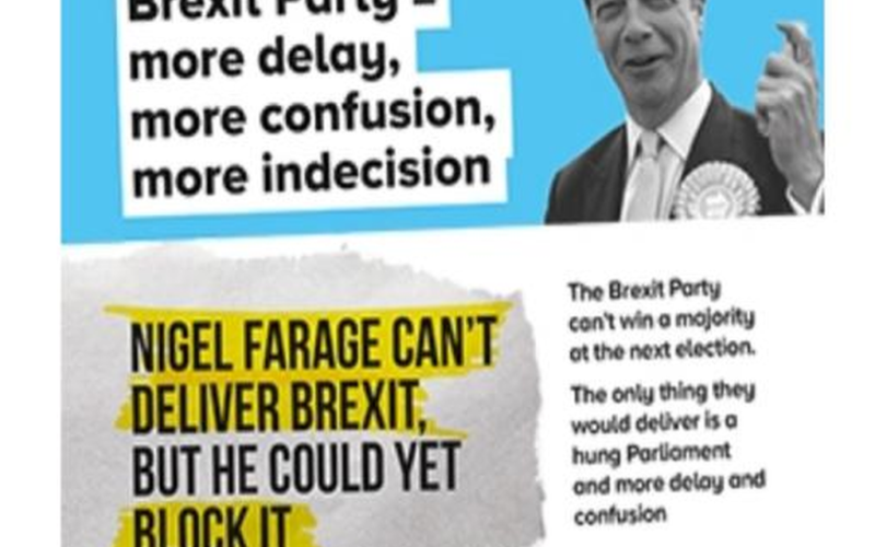 Conservative Campaign Leaflets