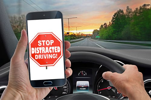 Distracted Drivers Mobile