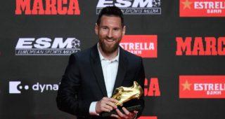 Messi Golden Boot