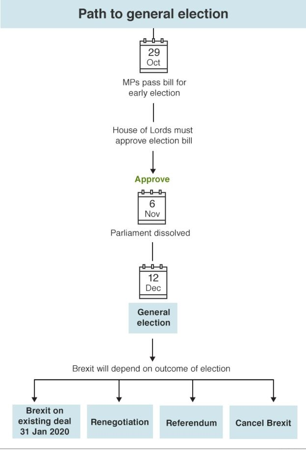 Path to general election