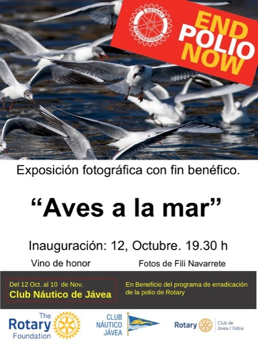 Rotary Javea End Polio - Photo Exhibition