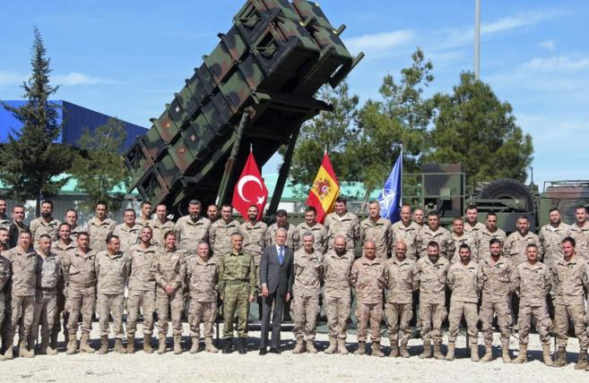 Spanish Militry in Turkey