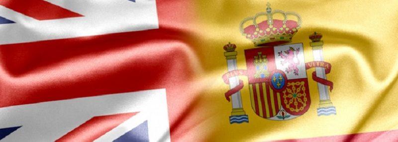 UK & Spain Flag