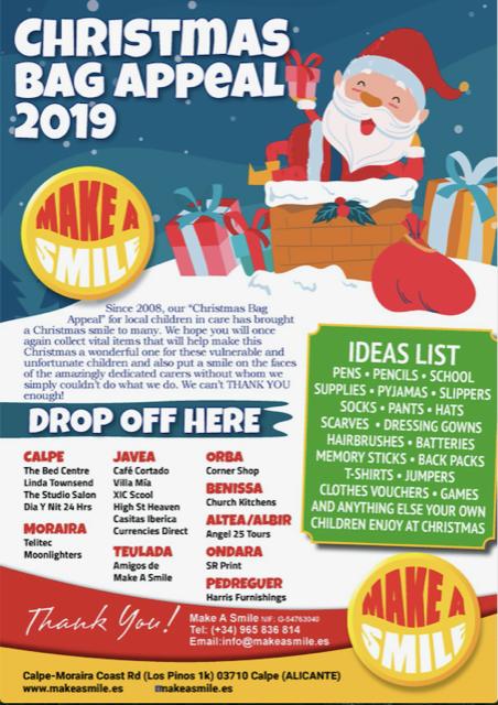 Christmas Bag Appeal 2019