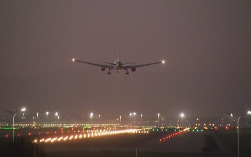 emergency landing by an Air Canada flight