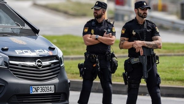 spanish national police