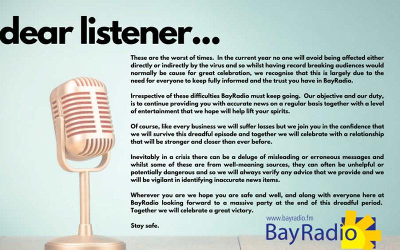 Dear Listener Covid-19