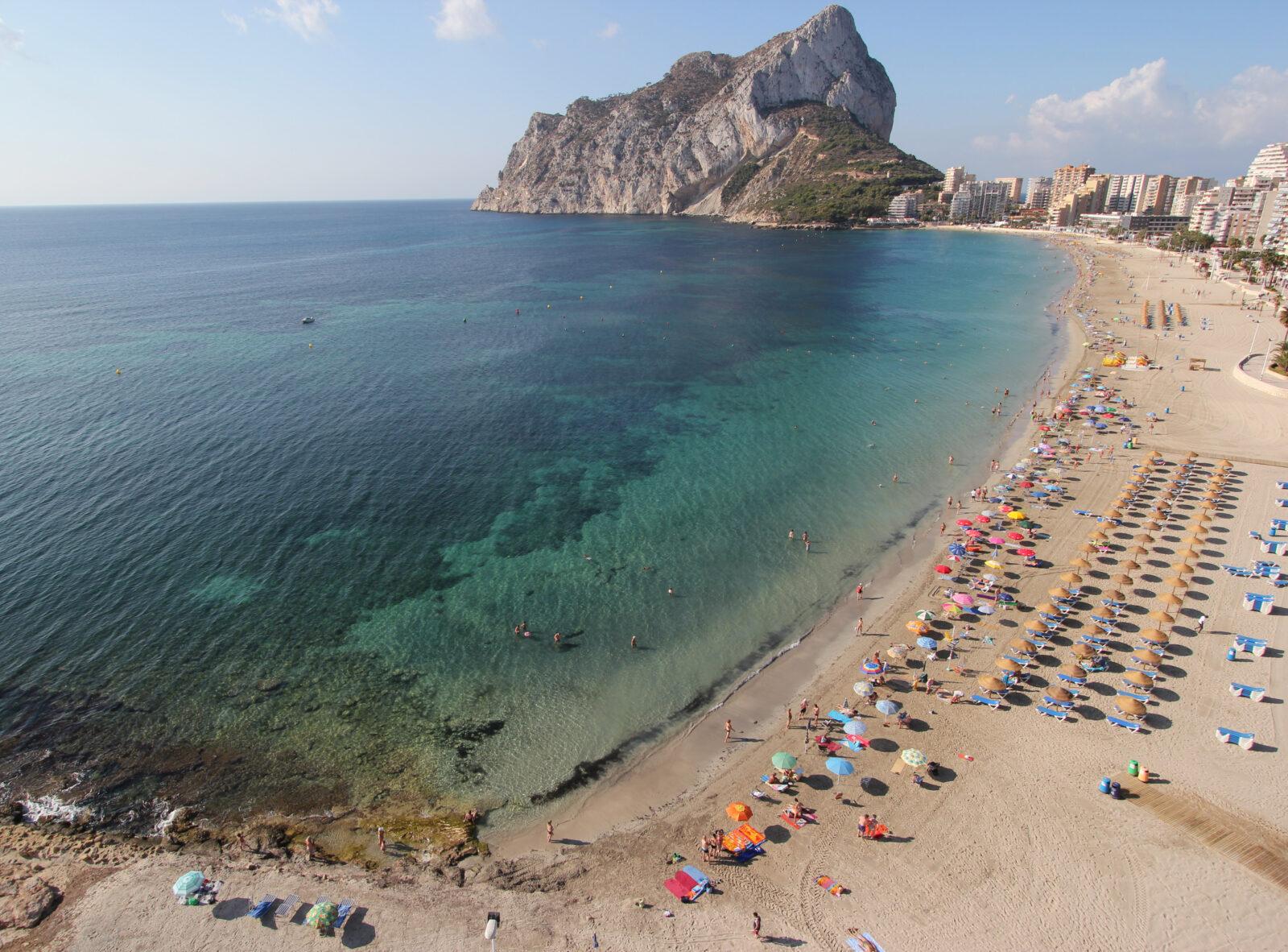 Calpe La Fossa Beach