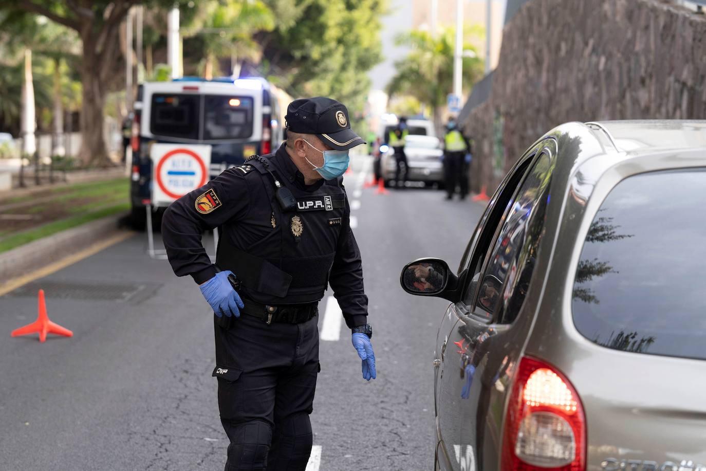 Control Policia nacional