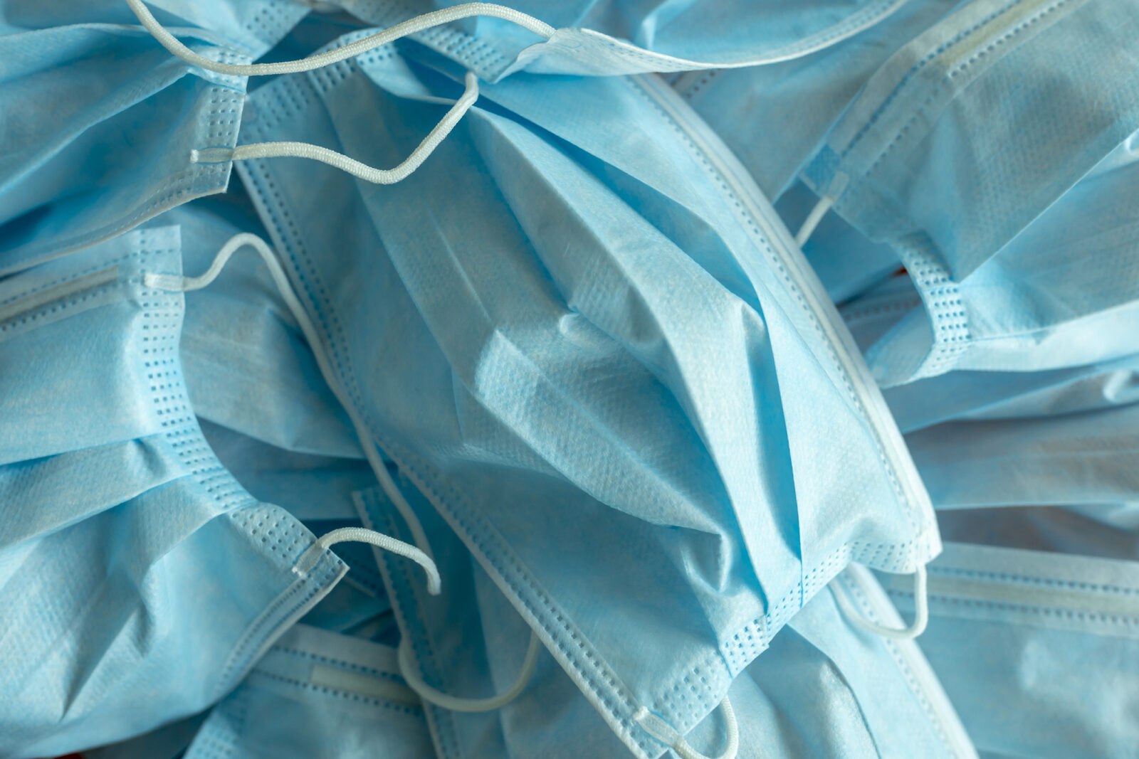 Blue Surgical Protective Masks