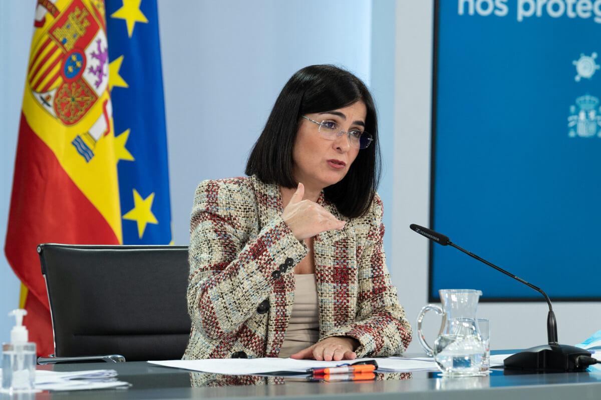 Minister Health Carolina Darias