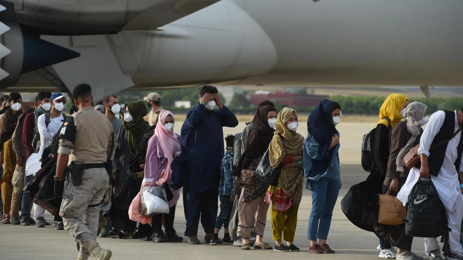 Afghan Arriving Spain