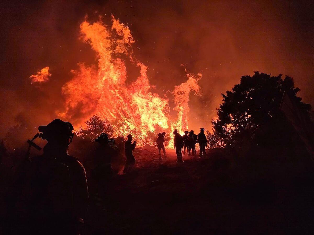 Fires In Spain