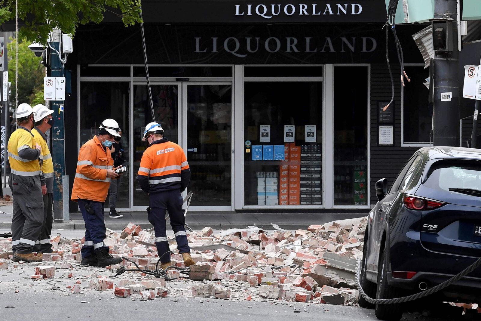 Image: Australia Quake