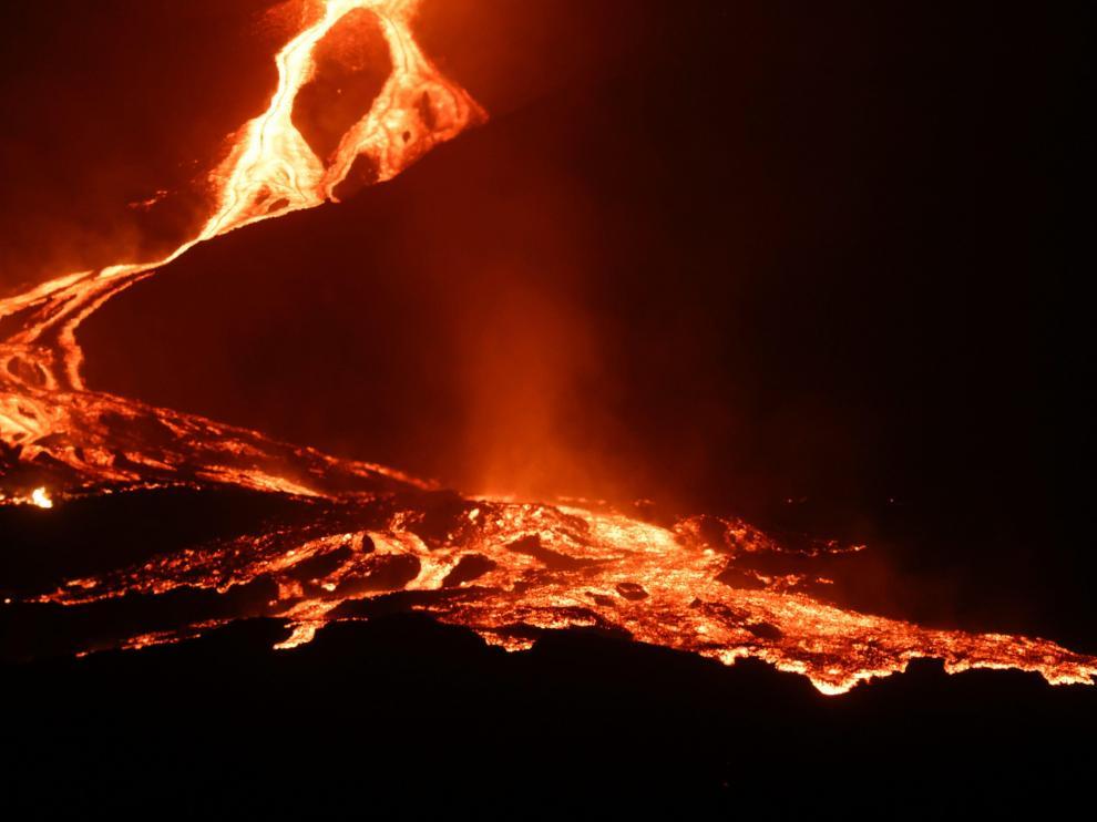Rio de lava La Palma